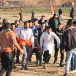 إصابة 6 فلسطينيين برصاص الاحتلال على حدود غزة