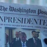 نسخة مزيفة من واشنطن بوست تروّج لرحيل ترامب