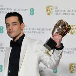 رامي مالك يفوز بجائزة بافتا لأفضل ممثل