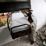 بقايا منزل هدمه الاحتلال