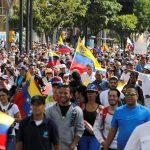 مسيرات للمعارضة الفنزويلية لمطالبة مادورو بالسماح بدخول مساعدات انسانية