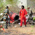 قتيل ومصابان في اصطدام طائرتين للقوات الجوية الهندية