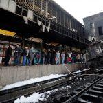 إعلان الحصيلة النهائية لضحايا حريق محطة مصر