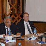 مساعد وزير الخارجية المصري لحقوق الإنسان يجتمع مع سفراء الدول الغربية