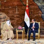 الرئيس السيسي يستقبل حاكم الشارقة