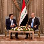 الرئيس العراقي يستقبل الوفد البرلماني الأردني