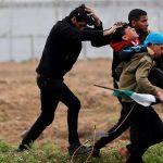 الصحة الفلسطينية: شهيدان و207 مصابا في مليونية الأرض والعودة