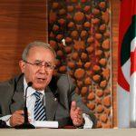 لعمامرة: المؤسسات الجزائرية ستواصل عملها حتى انتخاب رئيس جديد