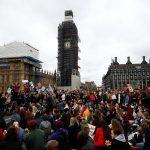 إضراب طلابي في بريطانيا من أجل المناخ