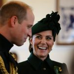 كيف احتفل الأمير ويليام وزوجته كيت بعيد القديس باتريك؟