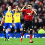 مانشستر يونايتد يفوز علي ساوثهامبتون بصعوبة بالدوري الإنجليزي