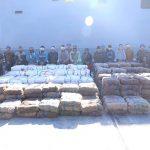 البحرية المصرية تضبط 8 طن من مخدر الحشيش وآلاف السجائر المسرطنة