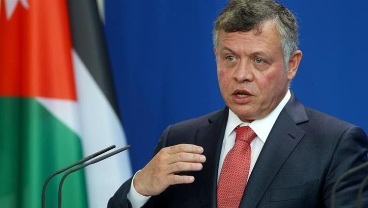 العاهل الأردني يعبر عن غضبه بسبب نشر معلومات مغلوطة
