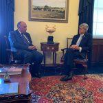 لقاءات مكثفة لوزير الخارجية المصري مع أعضاء الكونجرس الأمريكي