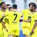 الوصل الإماراتي يفوز على النصر السعودي بدوري أبطال آسيا