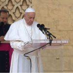 شاهد| بدأها بالسلام.. ننشر نص كلمة بابا الفاتيكان في المغرب