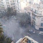 شاهد| كر وفر بين قوات الأمن والمتظاهرين في شوارع الجزائر