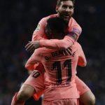 ميسي يقود برشلونة للفوز في لقاء قمة محلي أمام اسبانيول