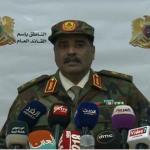 المسماري يحذر من صفحات على الإنترنت تحرض ضد الجيش الليبي