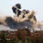 مسلحو داعش محاصرون على نهر الفرات بسوريا