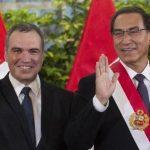 ممثل شهير رئيساً جديداً للحكومة في البيرو