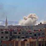 إنفجار في إدلب السورية يسفر عن مقتل 12 شخصاً