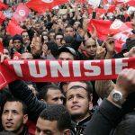 وقفة احتجاجية للعاطلين عن العمل تنديدا بوقف الانتدابات في تونس