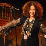 التونسية غالية بن علي تغني في مهرجان (رحلة الروح) برام الله