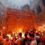 «النار المقدسة» في القدس