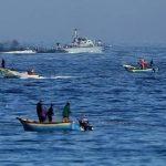 إصابة صياد فلسطيني برصاص الاحتلال في بحر غزة