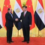 الرئيس الصيني يستقبل السيسي في بكين