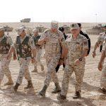 العاهل الأردني يتابع تمرين «القوة الضاربة»