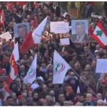 إضراب عام في لبنان احتجاجا على إجراءات الحكومة للتقشف