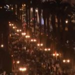 فيديو| آلاف المعلمين المغاربة يشاركون في احتجاجات الرباط