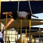حديقة مفتوحة للرياضيين في دبي ليمارسوا تمارينهم في الهواء الطلق