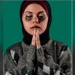 شاهد| رزان حماد تحول وجهها لمساحة فنية