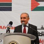 رئيس الوزراء الفلسطيني يدعو لتشكيل ائتلاف للحفاظ على حل الدولتين