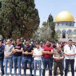 40 ألف فلسطيني يؤدون صلاة الجمعة بالأقصى
