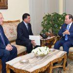 السيسي يستقبل رئيس جهاز الأمن والمخابرات الوطني السوداني