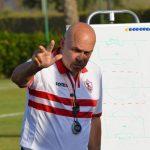 جروس يحذر لاعبي الزمالك من هجمات المصري