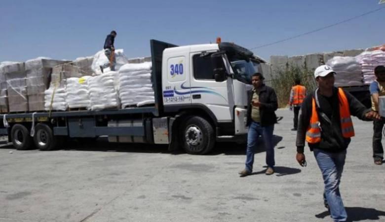 انخفاض واردات غزة 15% الشهر الماضي بسبب قيود الاحتلال – قناة الغد