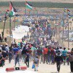 إصابة عشرات الفلسطينيين برصاص الاحتلال في غزة والضفة الغربية