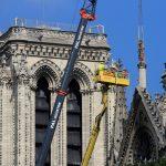 باريس.. كاتدرائية نوتردام تنظم أول قداس بعد كارثة الحريق