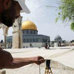 القدس تتزين لاستقبال شهر رمضان