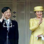 شاهد لحظة تنصيب الإمبراطور الـ126 لليابان