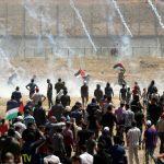إصابة 60 فلسطينيا برصاص الاحتلال على حدود غزة