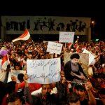 احتجاجات في بغداد ضد إقحام العراق في الأزمة بين أمريكا وإيران