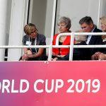 ماي تتابع كأس العالم للكريكيت بعيدا عن الاتحاد الأوروبي