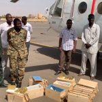 الجيش السوداني يضبط طائرة محملة بالذهب