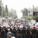 صور| تظاهرات بالضفة وغزة للمطالبة بتحسين الظروف المعيشية للعمال